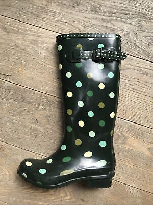 £16.50 • Buy Children's Spotty Wellies UK 3 EUR 35.5 NEW WITH TAGS