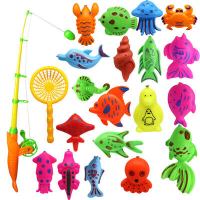 £6.84 • Buy 22PCS Fishing Toy Educational Funny Plastic Fishing Game For Toddlers Children