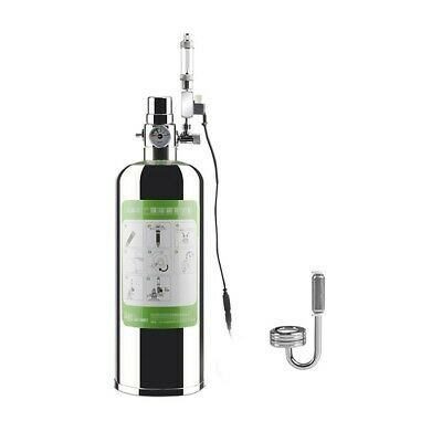 £95.89 • Buy 2L Double Aquarium CO2 Generator System Kit Stainless Steel Cylinder With