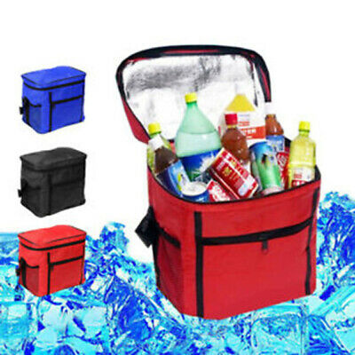 £5.99 • Buy Ice Bag Can Cool Picnic Bottle Cooler Camping Insulated Box Bag Carrier Chilling