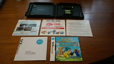 $125 • Buy Pokemon Mystery Dungeon: Explorers Of Sky (Nintendo DS) Complete -- Authentic