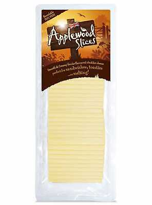 £11.99 • Buy Applewood Smoke Flavoured Cheddar Cheese Slices - 1x500g
