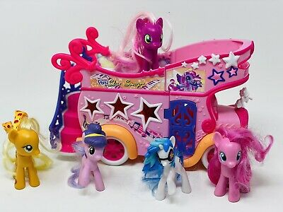 £22.26 • Buy My Little Pony Toy Lot Star Songs Bus Mobile Stage 2007 Foldout Toy Hasbro