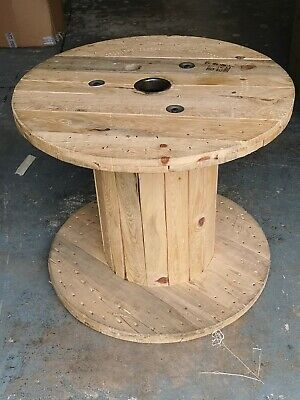 £50 • Buy LARGE WOODEN CABLE REEL 32  X 27