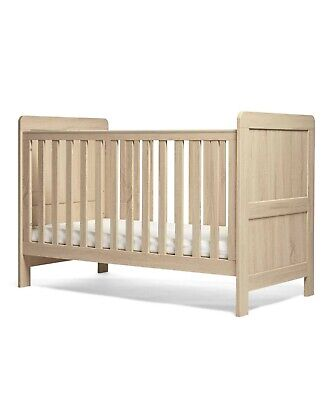 £125 • Buy Mamas And Papas Atlas Cot Bed, Silent Night Mattress & Underbed Storage