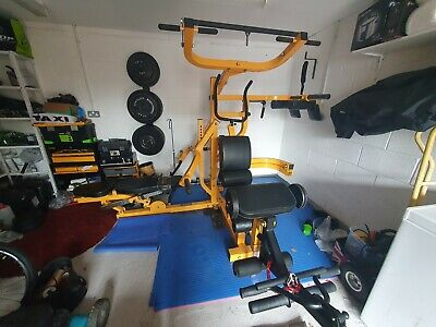 £1795 • Buy Powertec Workbench Multi System Including 200kg Olympic Weights