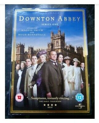 £6 • Buy Downtown Abbey Series 1 Plus Bonus Material DVD (3 Discs) Brand New And Sealed