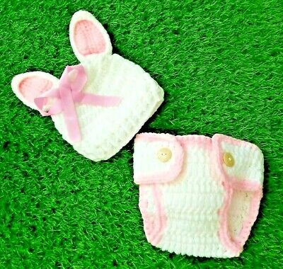 £9.81 • Buy Infant Baby Photography Props Easter Bunny Rabbit Photo Dress Outfit Costume