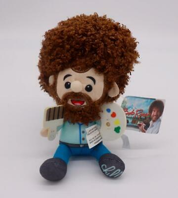£15.92 • Buy BOB ROSS Plush Stuffed Toy Doll Figure W Paint Brush & Palette New With Tags HTF