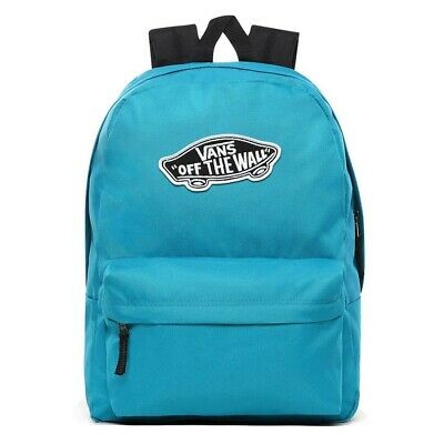 £29.99 • Buy Vans Realm Turquoise Blue Backpack (back To School)