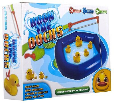 £11.99 • Buy Hook The Ducks Childrens Fishing Game Funfair Brand New And Boxed A Duck