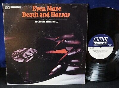 £14.54 • Buy EVEN MORE DEATH AND HORROR BBC Sound Effects No.27 Soundtrack/samples/halloween