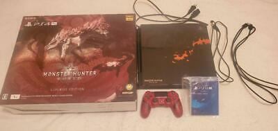 AU598.88 • Buy SONY PS4 Pro 1TB MONSTER HUNTER WORLD Limited  PlayStation 4 (879a)