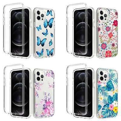 AU10.86 • Buy For IPhone 12 11 Pro Max XS XR 8 7 Shockproof Flower Cute Girls Women Case Cover