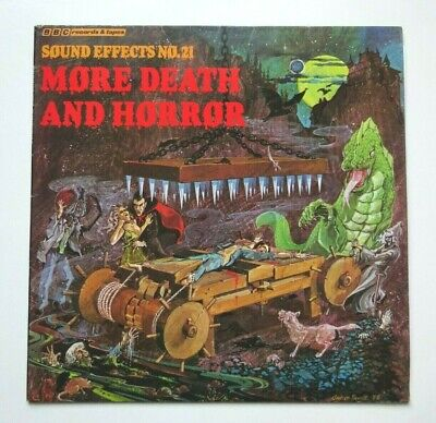 £12.99 • Buy MORE DEATH AND HORROR, SOUND EFFECTS No.21 - UK BBC 1978 LP/VINYL/RECORD