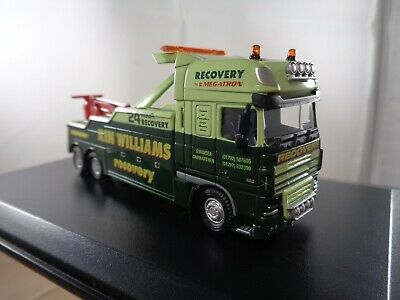 £29.99 • Buy Oxford Diecast  DAF XF `KEN WILLIAMS` Recovery Truck In 1:76 Scale , Boxed