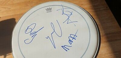 £499 • Buy ARCTIC MONKEYS Fully Signed Drum Skin - Signed In 2006 - Original Band Lineup