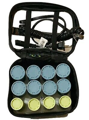 £20.37 • Buy Conair Instant Heat Compact Travel Hot Rollers With Case 12 Rollers & Clips
