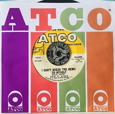 £79.99 • Buy Ben E. King * I Can't Break The News To Myself * Sixties R&b Northern Soul ❤️