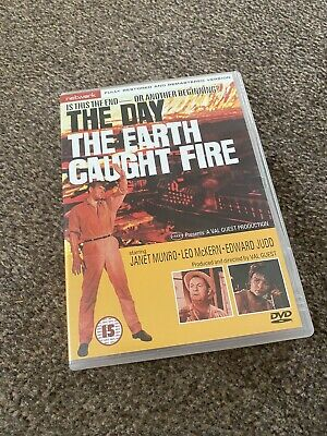 £3.99 • Buy The Day The Earth Caught Fire (DVD) (1961) (B/W) Edward Judd (SCI-FI) Used- Good