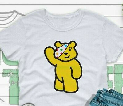 £14.49 • Buy Children In Need - T-shirt 2021 UK Seller-  BBC Charity - Pudsey Bear - Cute