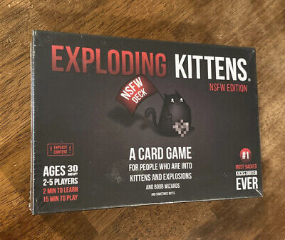 AU10.54 • Buy Exploding Kittens NSFW High Strategy Card Game Adults Only Explicit Deck