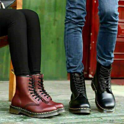 £21.99 • Buy Womens Ladies Chunky Platform Lace Up Zip Combat Army Goth Punk Ankle Boots Size