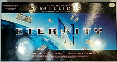 £14.95 • Buy Eternity Puzzle - The Puzzle Worth A Million | Complete Vintage Rare Board Game