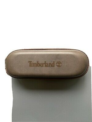 £19.95 • Buy Timberland Glasses Case Brown Designer Replacement Case Used Vgc Sunglasses Zip