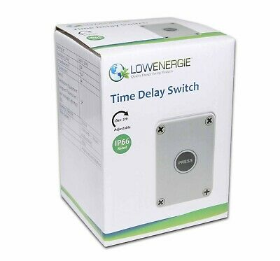 £22.99 • Buy Waterproof Time Delay Lag Switch 16A - Lighting, Outdoor Smoking Patio Heater