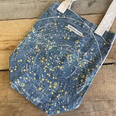 £15.99 • Buy Cavallini & Co Constellations Starry Cloth Shopper Tote Bag Vintage Style