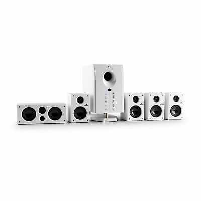 £87.99 • Buy 5.1 Surround Sound Active Speaker System Home Audio Music Remote 95 W RMS White