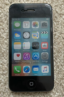 £36 • Buy Apple IPhone 4s 12GB Black With Box& Accessories O2 Or Giffgaff Good Condition