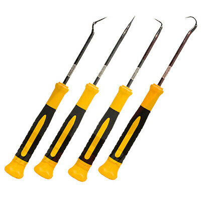 AU13.67 • Buy 4pc Hook And Pick Deluxe Swivel Handle Precision Tool Set For Home Improvement