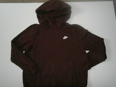 £12.99 • Buy Ladies Nike Hoodie Burgundy Size Large Pit To Pit 22  Very Good Condition