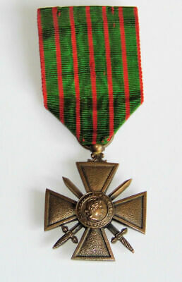 £59.99 • Buy Genuine WW1 The War Cross Croix De Guerre 1914-1918 French Medal And Ribbon