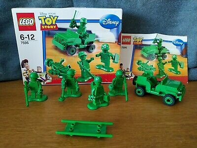 £19.99 • Buy LEGO Toy Story Green Army Men On Patrol (7595) With Box - Complete -Disney Pixar