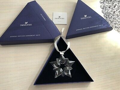 £36 • Buy Lovely Swarovski Annual Christmas 2019 Star Brand New And Mint In Box