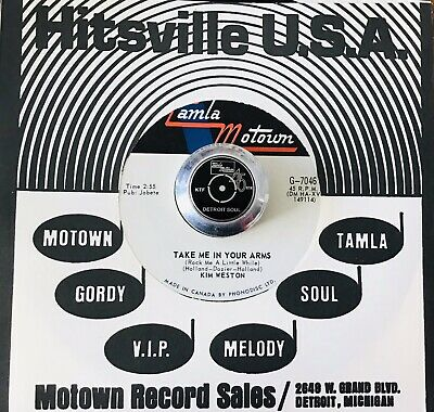 £29.99 • Buy KIM WESTON *Canada* TAKE ME IN YOUR ARMS *NM* MOTOWN NORTHERN SOUL ❤️