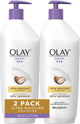 AU36.85 • Buy Olay Quench Body Lotion Ultra Moisture With Shea Butter And Vitamins E And B3, 2
