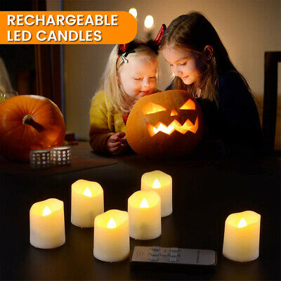 £22.39 • Buy LED Candle Flameless Electronic Candle Light Night Lamp Wedding Party Home
