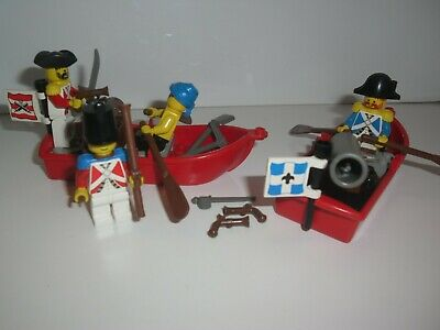 £29.99 • Buy  Lego 6245 Harbor Sentry &  6247 Bounty Boat Pirates Vintage Imperial Soldiers