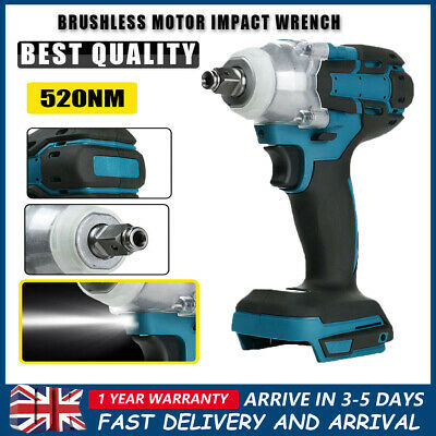 £24.99 • Buy 1/2  Driver Replace For MAKITA DTW285Z 18V Cordless Brushless Impact Wrench UK