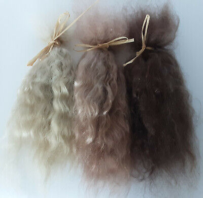 £9 • Buy Premium Conditioned Wavy Mohair Locks For Doll Hair