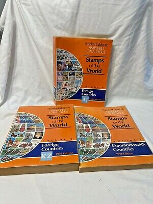 £19.99 • Buy Vol 1, 2 & 3 Stanley Gibbons Simplified Catalogue Stamps Of The World 1992-93