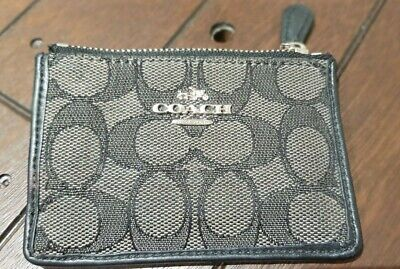£14.99 • Buy Coach Coin Card Change And Key Ring Purse