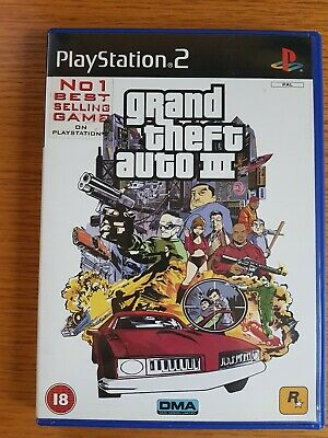 £5.99 • Buy Grand Theft Auto: 3 (PS2) - Game  - COMPLETE WITH MAP - BLACK LABEL GIFT