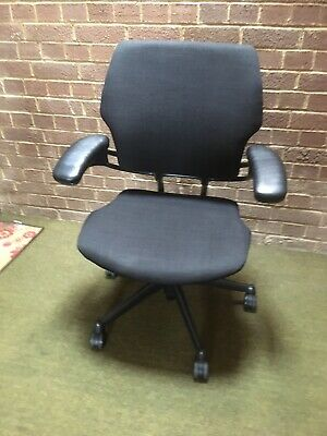 £110 • Buy Humanscale Freedom Office Chair In Black - London Delivery