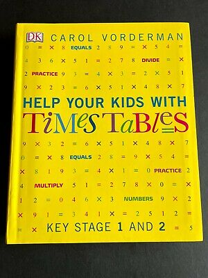 £7.99 • Buy NEW Carol Vorderman - Help Your Kids With TIME TABLES Book