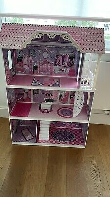 £50 • Buy Doll House ELC Large Wooden Early Learning Toy Pretend Game No Furniture